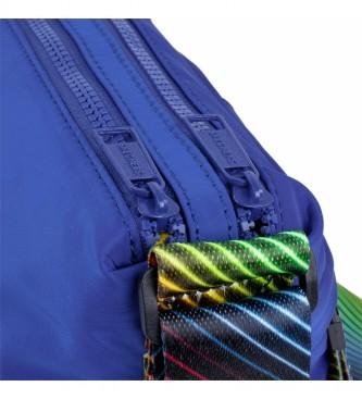 Skechers Petit sac à bandoulière unisexe S897 bleu -26x33x5,5cm