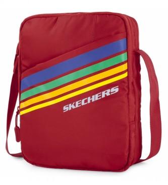 Skechers Borsa a tracolla piccola unisex S914 rosso -23x17x7cm