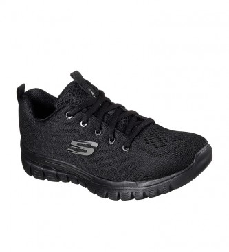 Skechers Zapatillas Graceful Get Connected negro con Memory Foam
