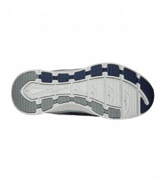 Skechers Leather sneakers D'Lux Walker navy, grey