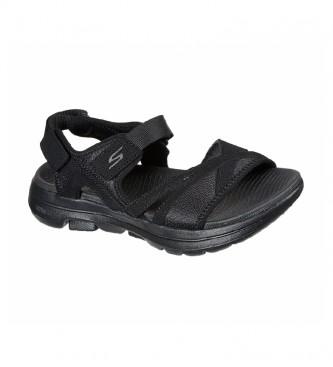 Skechers Sandalias Go Walk 5-Restored negro