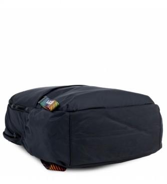 Skechers Mochila Bolsillo Interior Ipad Tablet S894 negro -30x46x15cm-