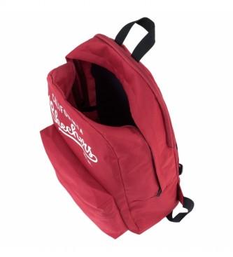 Skechers Mochila Bolsillo Interior Ipad Tablet S904 rojo -46x30x14cm-