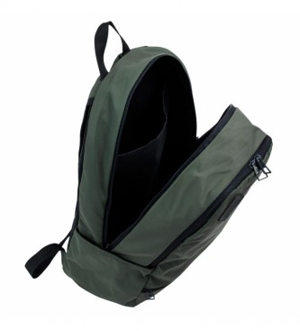 Skechers Mochila Grande Portátil 17 Pulgadas S892 verde -30x46x15cm-