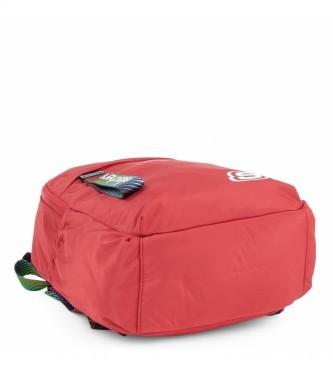 Skechers Mochila Pequeña S895 rojo -32x23x12cm-