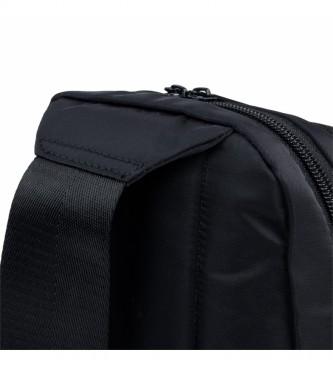 Skechers Mochila Unisex Adulto con Bolsillo Interior Ipad Tablet S973 negro -30x16,5x6cm-
