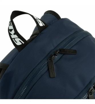 Skechers Zaino S928 blu navy -29x46x16 cm-