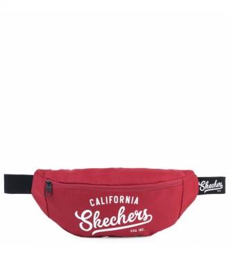 Skechers Sac à fesses S907 rouge -12x30x10cm