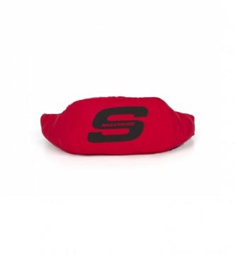 Skechers Bum Olímpico saco vermelho -12x40x40x7cm