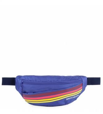 Skechers Riñonera S915 azul -12x30x10cm-