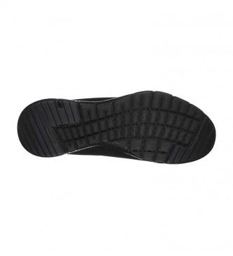 Skechers Flex Appeal 3.0 - Premier aperçu en noir