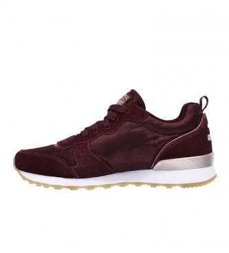 Skechers OG 85 Goldn Gurl Goldn sapatos cor de vinho