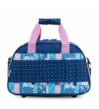 Skpat Children's Sports Bag 130040 blue -40x25x19cm
