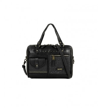Skpat Bowling Shoulder Bag 304665 black -20,5x29x15cm
