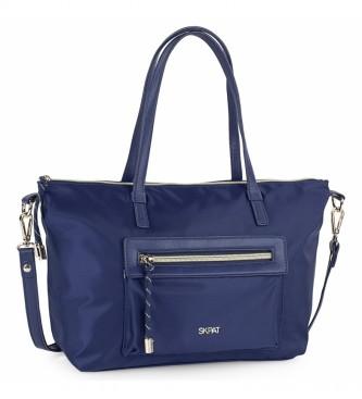Skpat Borsa shopping 307681 -37x23x14cm- blu scuro
