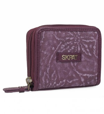 Skpat Purse wallet 304626 garnet -8x10,5x1cm