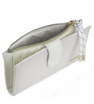Skpat Portefeuille 307621 -16,5x9x1cm- blanc