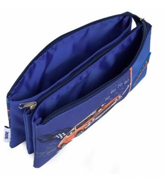Skpat Grande mallette d'impression pour enfants 130911 bleu -23x11x5cm