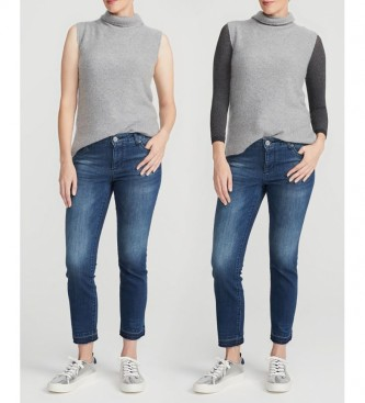 Spanx Basic Semi-Transparent Knitwear Undershirt 20158R grey