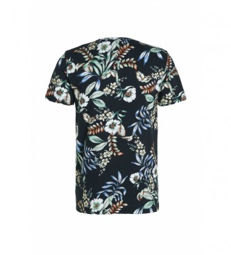 Superdry T-shirt con stampa all-over e Logo Vintage