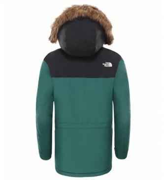 The North Face Parka McMurdo vert / DryVent
