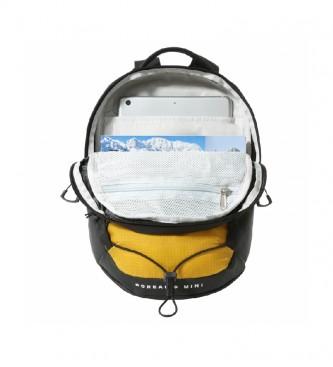 The North Face Mini mochila Borealis cinza, amarelo -22x10,5x34,3cm