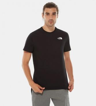 The North Face Camiseta de algodón Redbox  negro