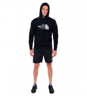 The North Face Drew Peak cotton sweatshirt black