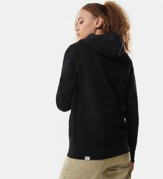 The North Face Sweatshirt Crew Peak W black