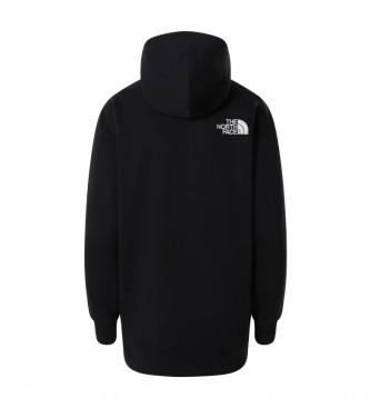 The North Face Oversized sweatshirt black