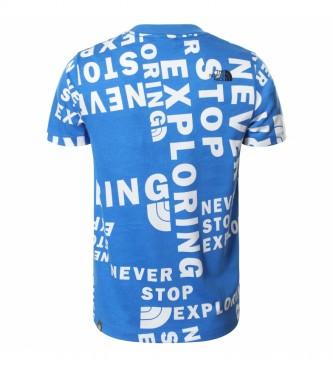 The North Face T-shirt à manches courtes Simple Dome bleu