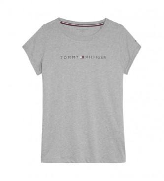 Tommy Hilfiger Grey LOGO Cotton T-shirt