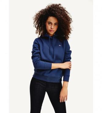 Tommy Hilfiger Regular Hooded Sweatshirt with Navy Fleece Lining