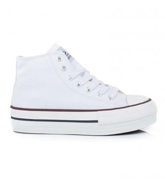 Victoria Sneaker Amsterdam white -platform height: 4.5cm