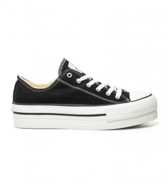 Victoria Sapatos pretos estilo basquete - Altura da plataforma: 4 cm-
