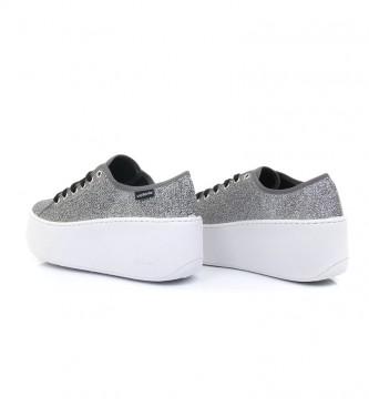 Comprar Victoria Zapatillas Brillo gris plata Altura