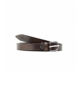 Vogue Cinturón de piel CIVO30107MA marrón