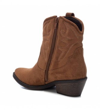 Xti Ankle boots 044583 camel -Heel height: 5 cm