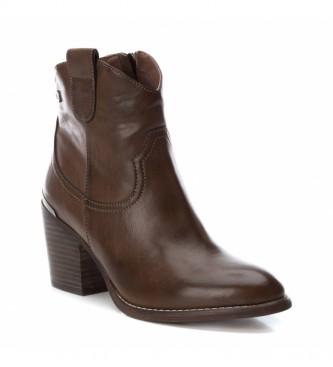 Xti Botas de tornozelo 049446 castanho -Altura do calcanhar: 7cm