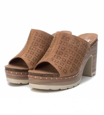 Xti Sandals 034241 camel -Heel height: 10cm