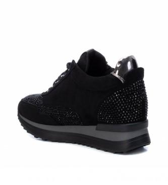 Xti Sapatos 044659 preto - Altura da cunha: 6 cm