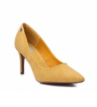 Xti Sapato de sala 034235 amarelo - altura das rodas: 8cm