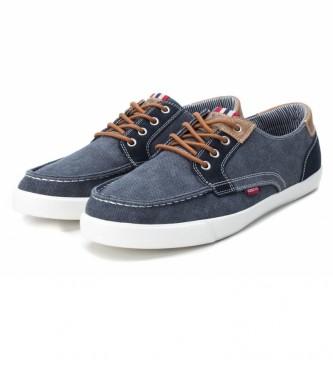 Xti 049620 scarpe blu scuro