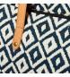 Comprar Timberland Saco Tote North Twin impressão marinha -44x40x13cm