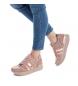 Comprar BASS3D by Xti Flat sport shoe 041551 nude - Platform height: 3cm-