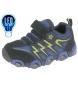 Zapatillas de piel Luces azul