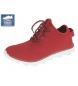 Zapatillas lona rojo