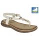 Sandalias blanco