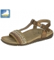 Sandalias bronce