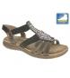 Sandalias marrón